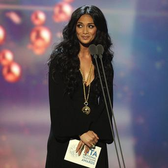 Nicole Scherzinger was honoured at the Asian Awards