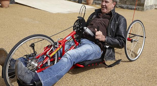 Jeremy Clarkson is support the Hero Ride. Picture credit: Roger Kelly/PA Wire