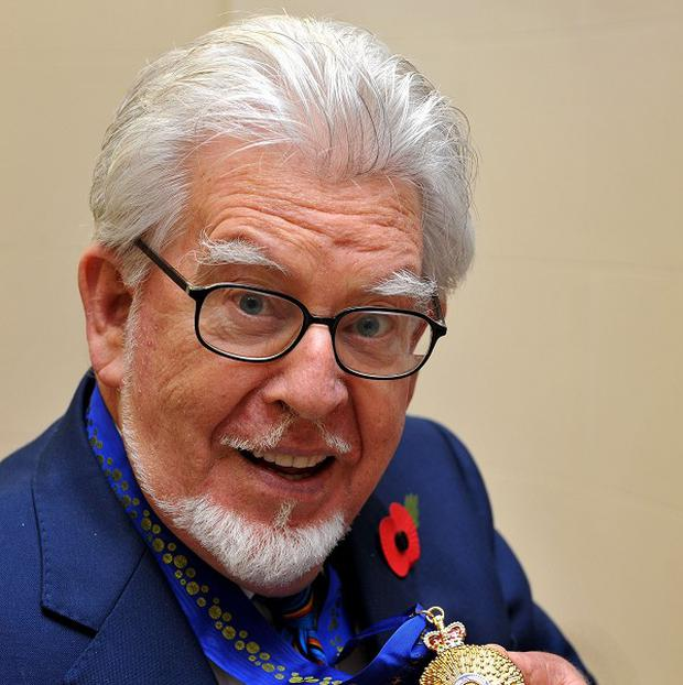 Rolf Harris was arrested by police investigating sexual abuse allegations