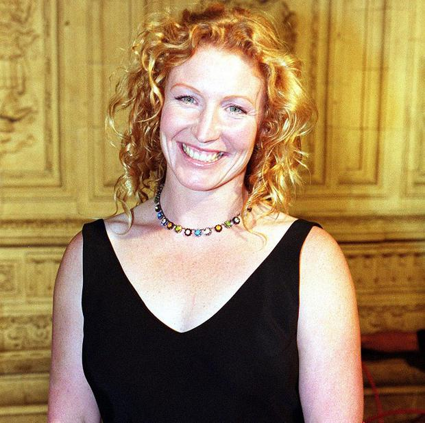 Charlie Dimmock found all the fuss about her lack of a bra boring