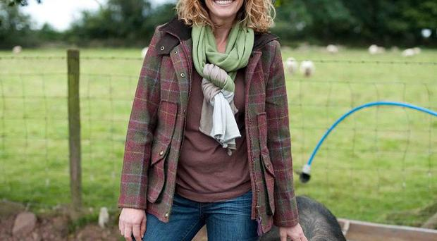 Kate Humble has forged a successful TV career