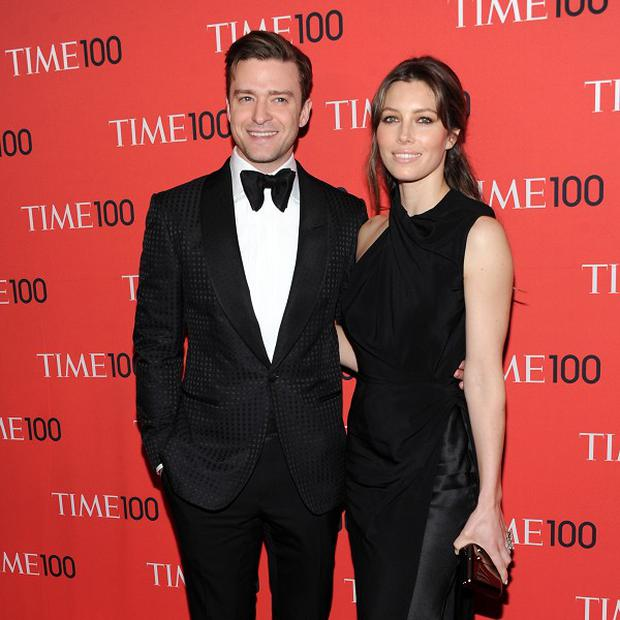 Justin Timberlake and Jessica Biel stepped out for the Time 100 Gala