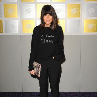 Claudia Winkleman presented the first series of The Great British Sewing Bee