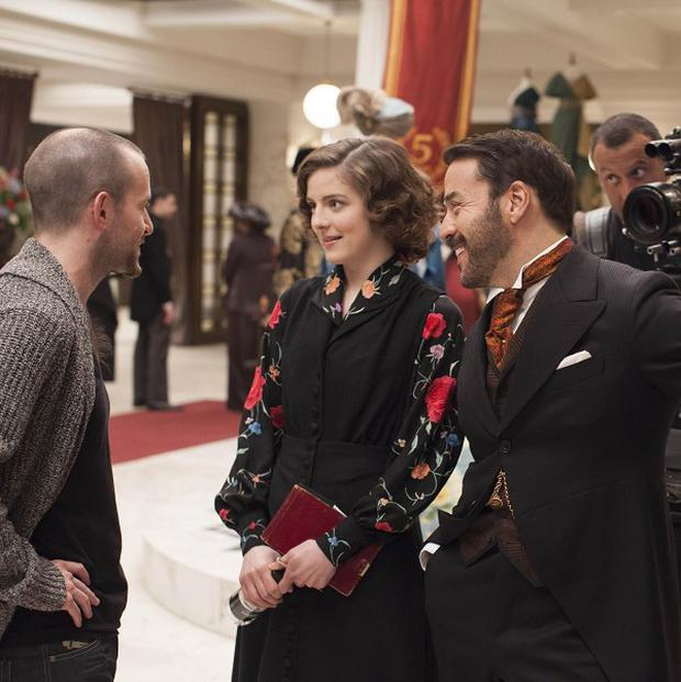 Jeremy Piven has begun work on the new series of Mr Selfridge