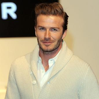 David Beckham is worth 165 million pounds, according to a new list