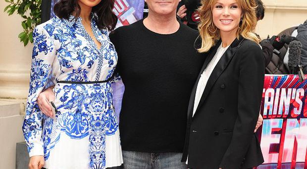 Alesha Dixon, Simon Cowell and Amanda Holden are judges on Britain's Got Talent
