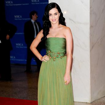 Katy Perry attended the White House Correspondents' Dinner in Washington
