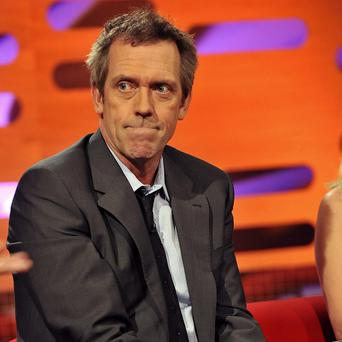 Hugh Laurie tired of the fame that came with his House role