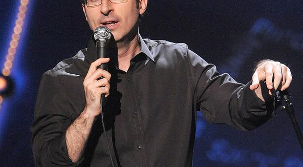 John Oliver is taking over hosting the Daily Show while Jon Stewart makes a film