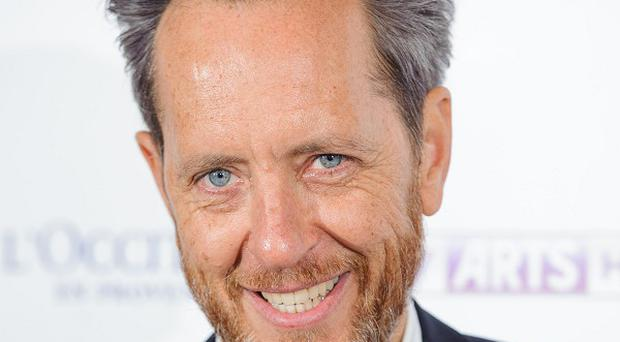 Missed flight: Richard E Grant