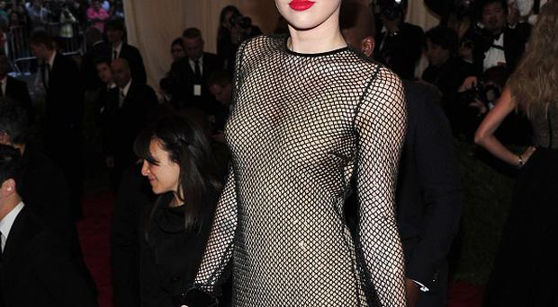 Miley Cyrus goes punk at the Met Gala in New York