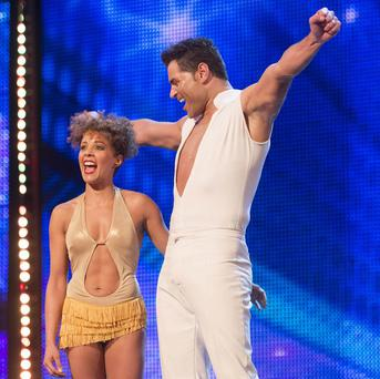 Britain's Got Talent dancers Martin and Marielle hope to win the public over