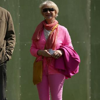 Dame Helen Mirren attended the As One In The Park festival in east London