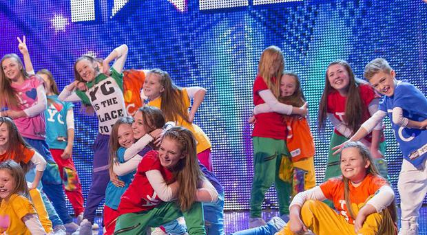 Dancers Youth Creation who have made it through to the semi-final of this year's Britain's Got Talent