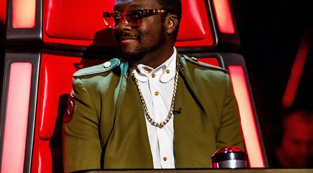 The Voice coach Will.i.am has been advising Luminites, finalists on rival show BGT