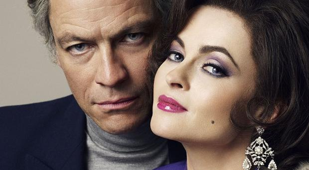 Helena Bonham Carter and Dominic West star in BBC film Burton And Taylor
