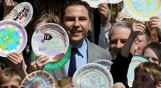 David Walliams has been urging the Government to do more about world hunger