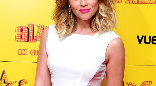 Kimberley Walsh thinks she will be an over-protective mum