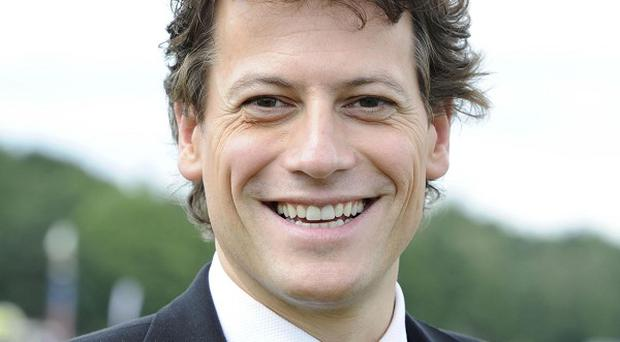 Ioan Gruffudd likes the cameraderie on the golf course