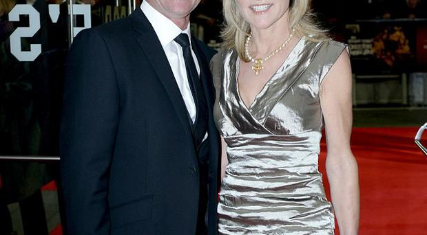 Anthea Turner has confirmed her split from husband Grant Bovey