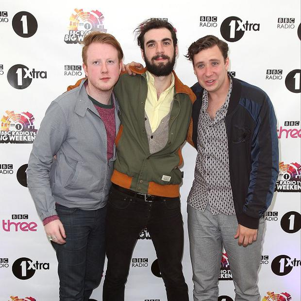 Two Door Cinema Club who will headline an anti-G8 concert in Belfast