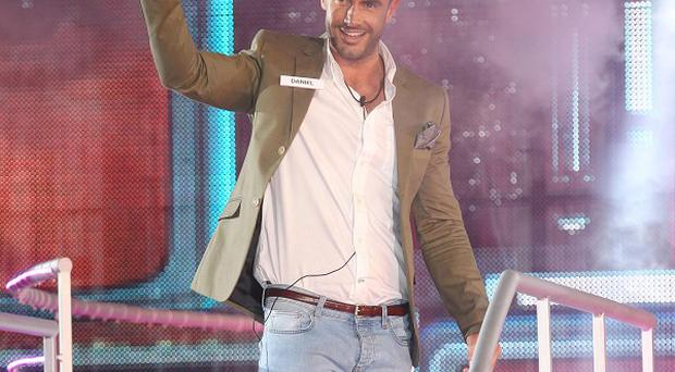Daniel Neal enters the Big Brother House