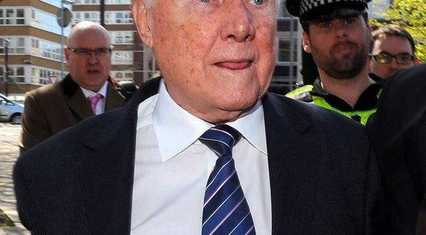 Stuart Hall has been sentenced to 15 months in jail