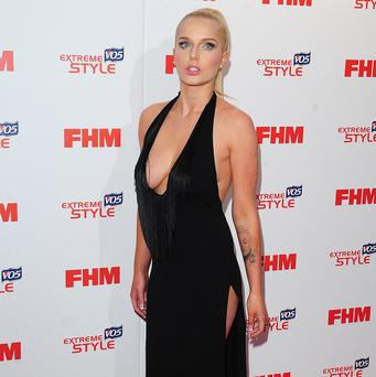 Helen Flanagan's home was raided and some jewellery stolen