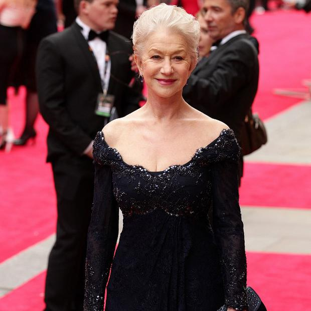 Dame Helen Mirren doesn't see herself as a sex symbol