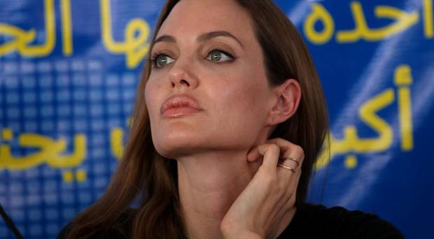Angelina Jolie is a special envoy to the United Nations High Commissioner for Refugees