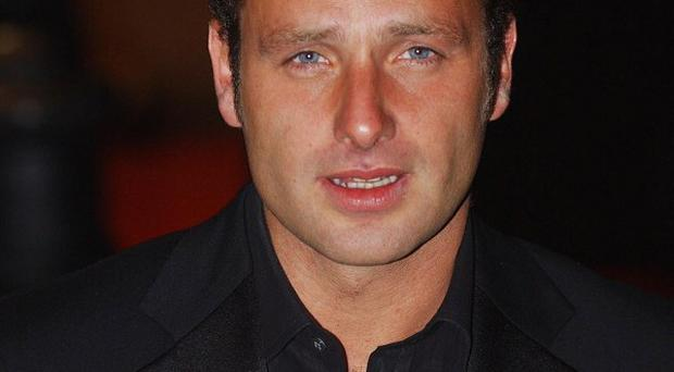 Andrew Lincoln stars in The Walking Dead