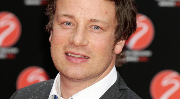 Jamie Oliver said he loved Hunger Games book Catching Fire