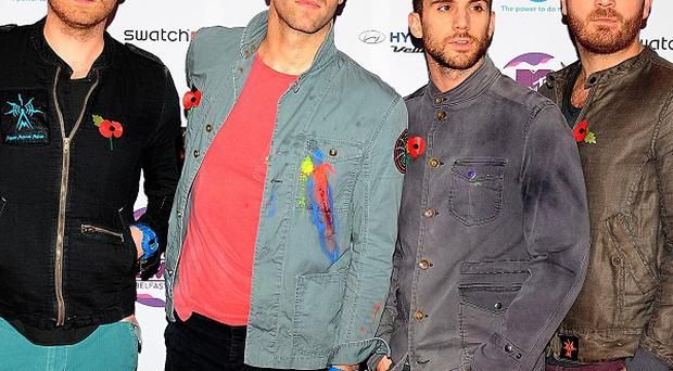 Coldplay made their mark on the latest Forbes list