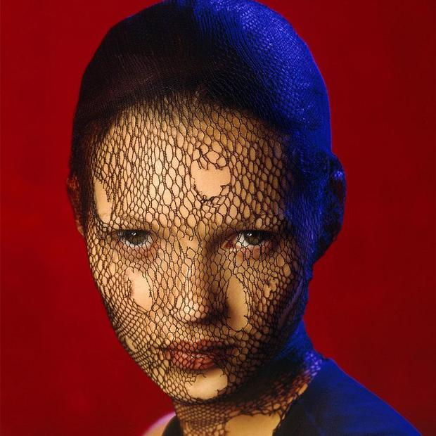 Kate Moss in Torn Veil, Marrakech, 1993 by Albert Watson (AP/Christie's)