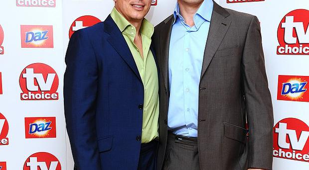 John Barrowman and Scott Gill have tied the knot in California
