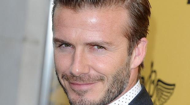 David Beckham showed off his sprinting skills at his son's sports day
