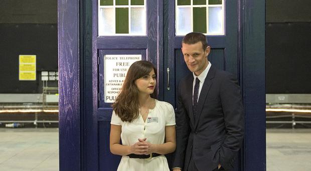Matt Smith will join three other past Doctors at the 50th anniversary celebrations