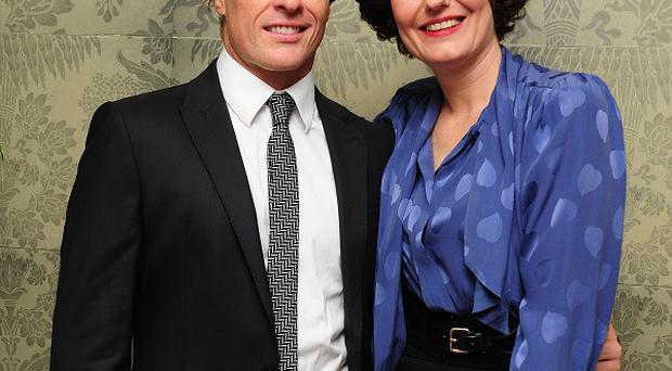Toby Stephens and Anna Chancellor star in Private Lives