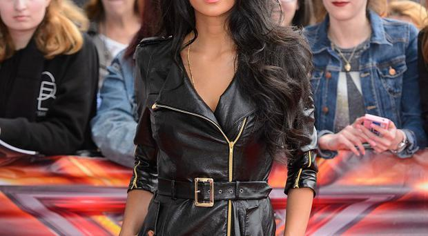 Nicole Scherzinger was showered with gifts at The X Factor auditions