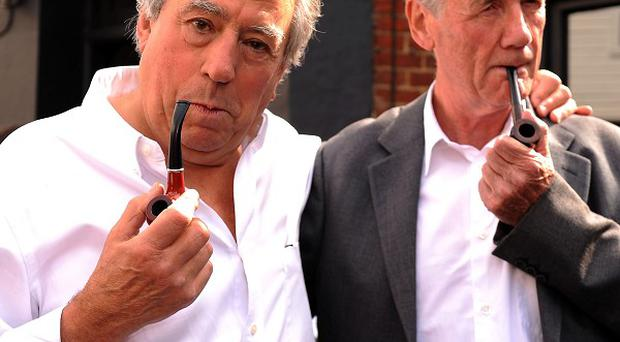 Terry Jones and Michael Palin both gave evidence in the Spamalot royalties case