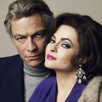 Dominic West and Helena Bonham Carter star in Burton And Taylor