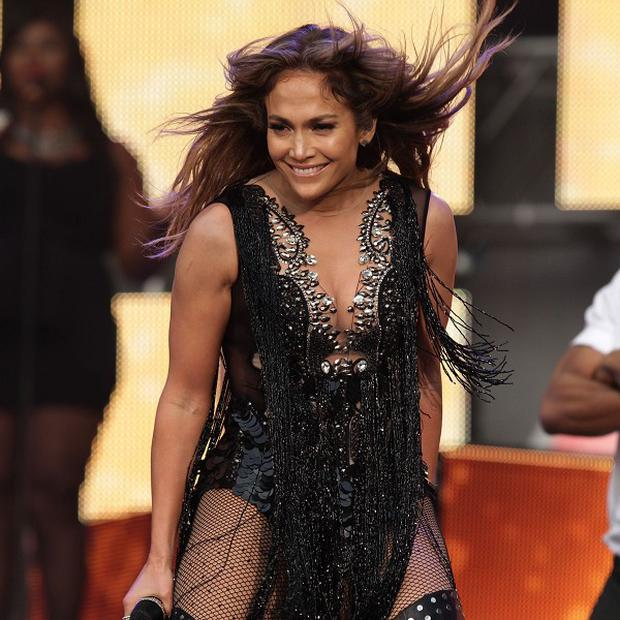 Jennifer Lopez slept in the dance studio at the start of her career