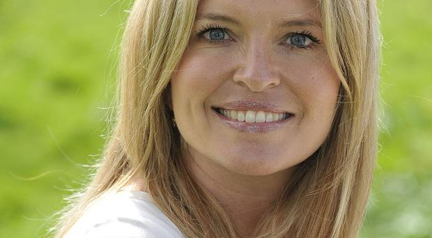 Tina Hobley would love a role in a crime drama like Broadchurch