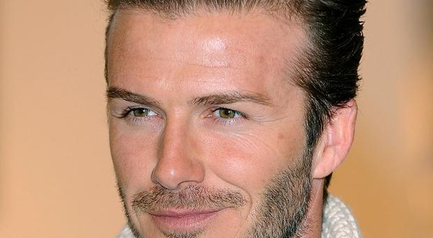 David Beckham said William and Kate would be 'amazing' parents
