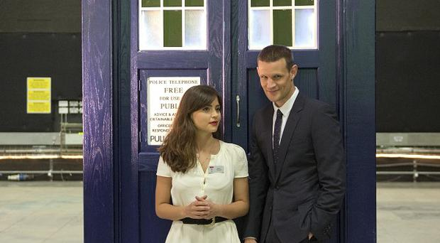 Matt Smith and Jenna-Louise Coleman were special guests at the Doctor Who Proms
