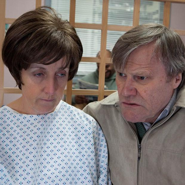 Hayley Cropper is diagnosed with pancreatic cancer in Coronation Stree