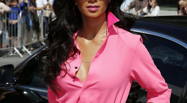 Nicole Scherzinger sizzled in the sun at the X Factor auditions in London