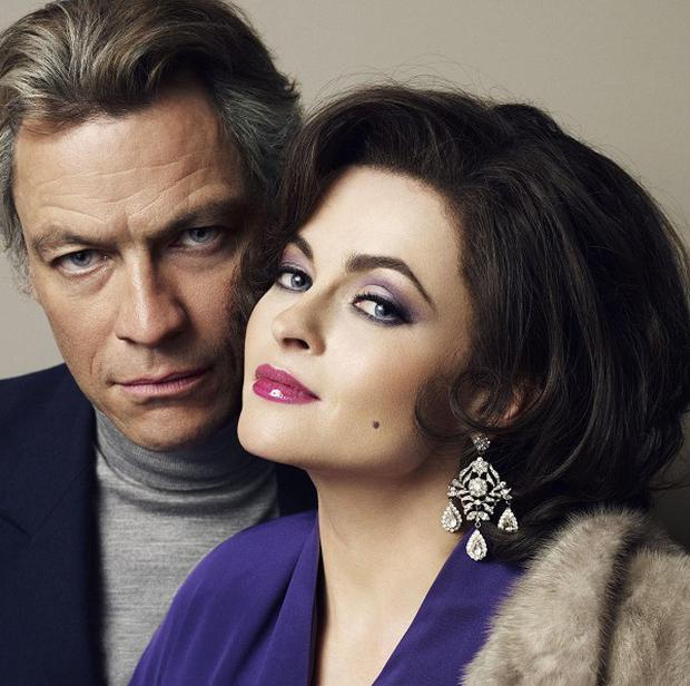 Dominic West and Helena Bonham Carter star in BBC Four film Burton and Taylor