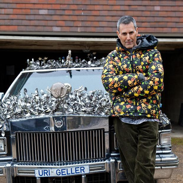 Uri Geller is the subject of a new BBC Two documentary
