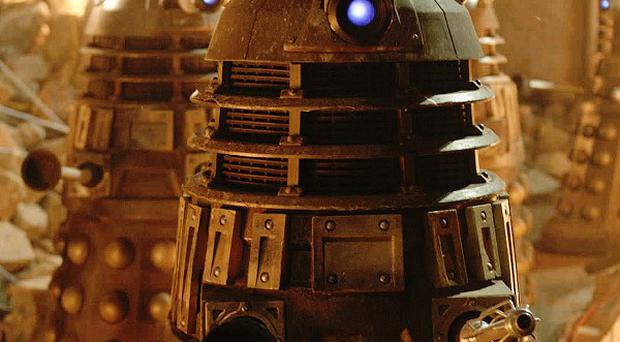 The deadly Daleks will return for Doctor Who's 50th anniversary special